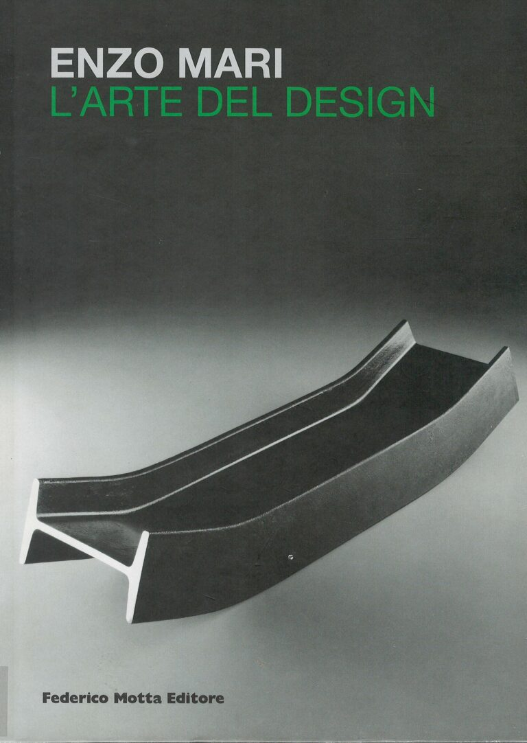 Enzo Mari – ľ arte del design
