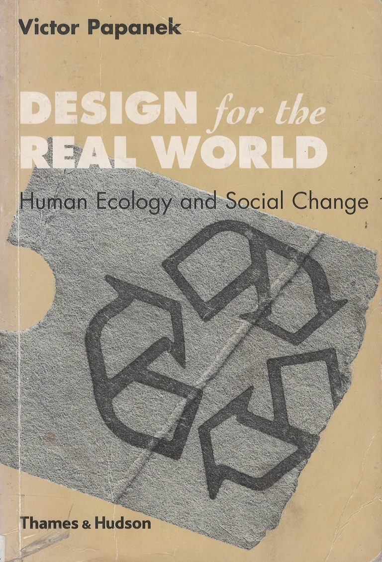 Design for the real world – human ecology and social change