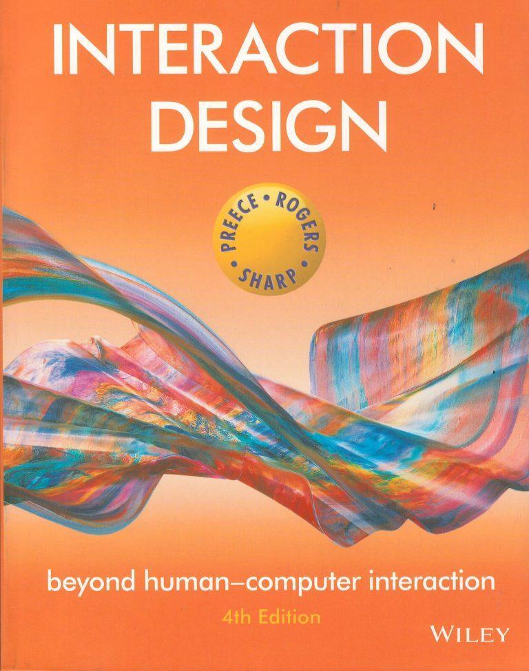 Interaction Design – beyond human-computer interaction