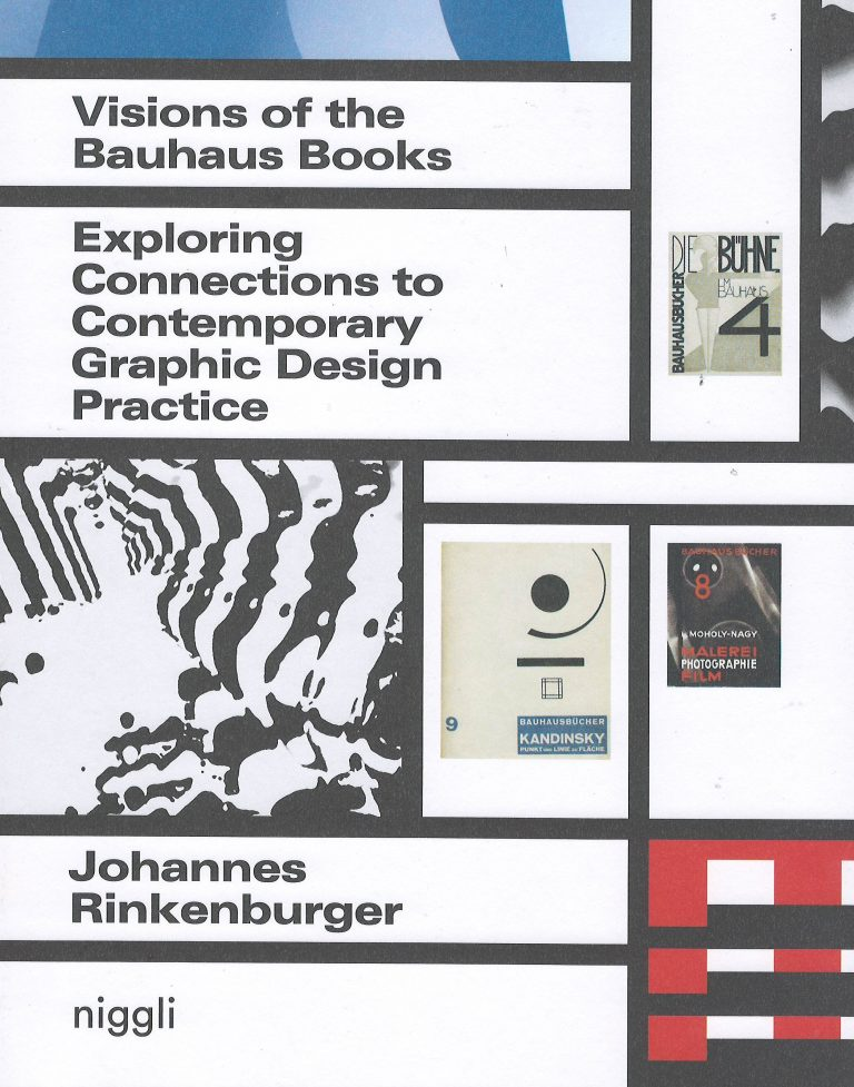 Visions of the Bauhaus Books – exploring connections to contemporary graphic design practice