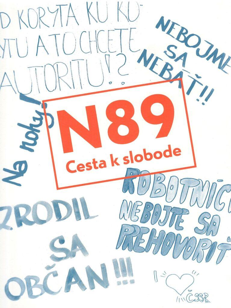 N89 – cesta k slobode