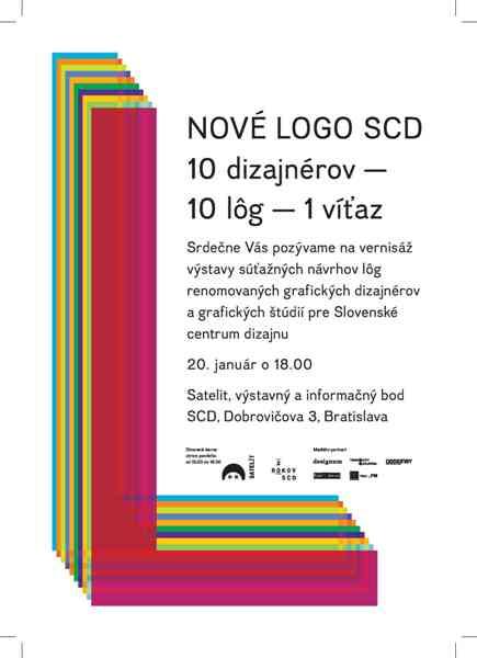 Nové logo Slovenského centra dizajnu