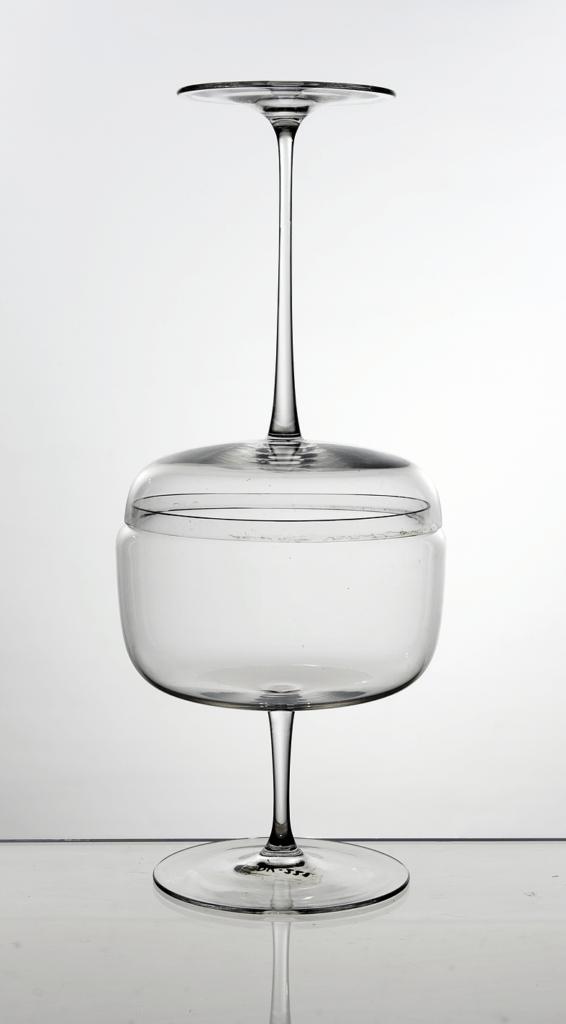 Karol Hološko Dóza sklenená tvarovaná 1962
