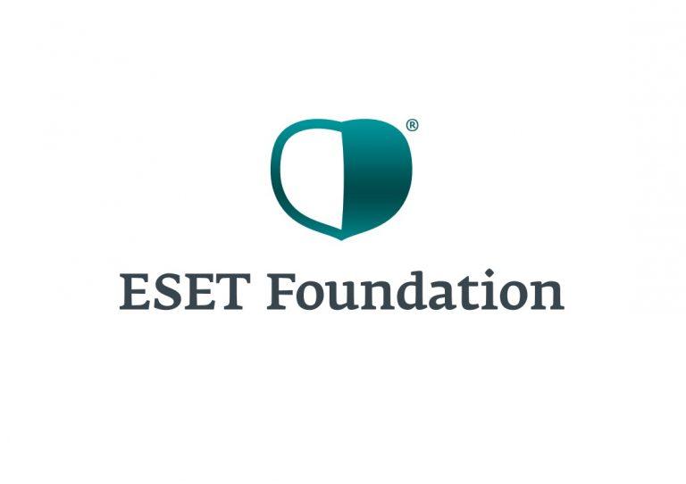 Logotyp ESET Nadácia