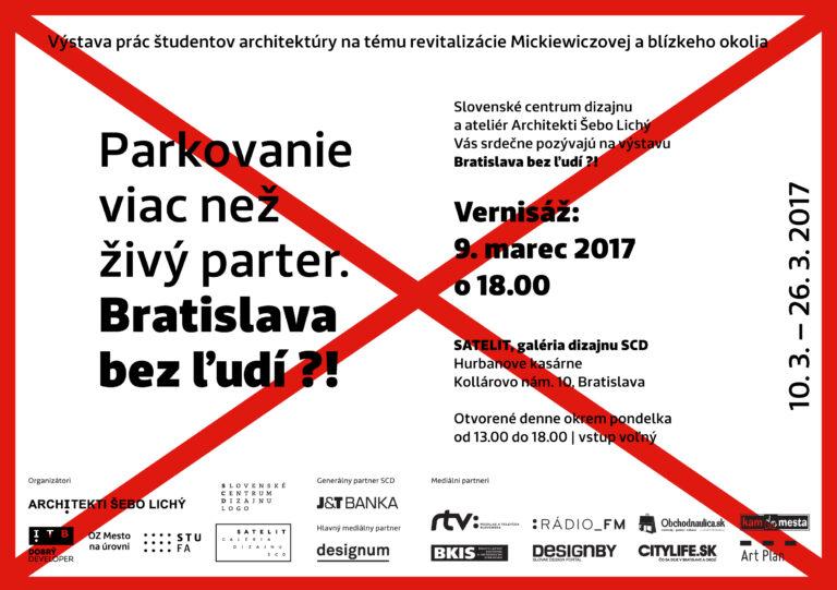 Bratislava bez ľudí?!