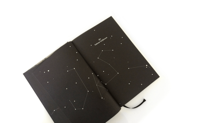 Mária Rojko: grafický dizajn knihy Letné svetlo a potom príde noc (Artforum)