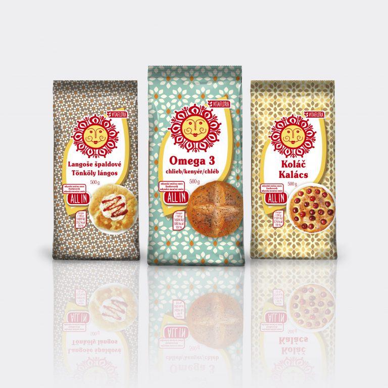 Vitaflóra Flour - obalový dizajn a komunikačná kampaň