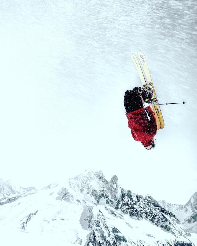 Švéd Truls Mörfelt s Forest Skis