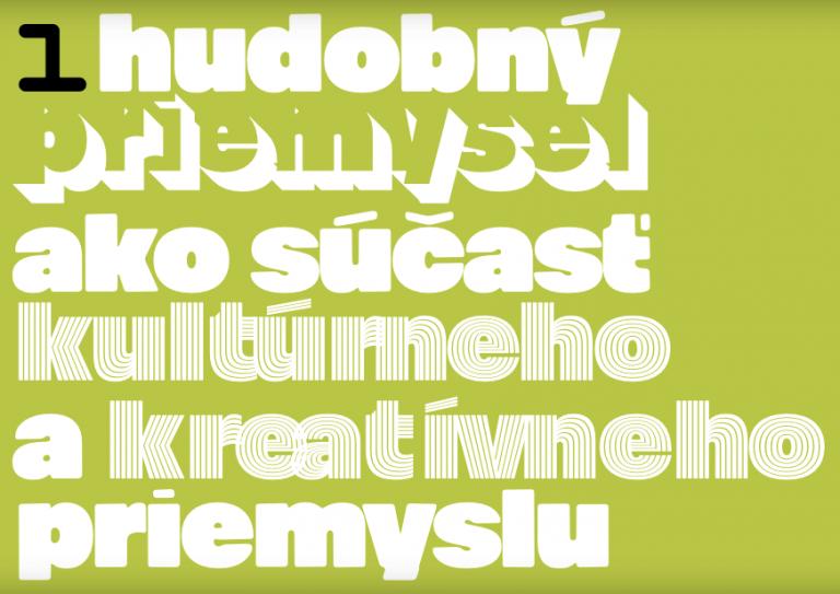 Prvá Správa o slovenskom hudobnom priemysle je vizuálna lahôdka
