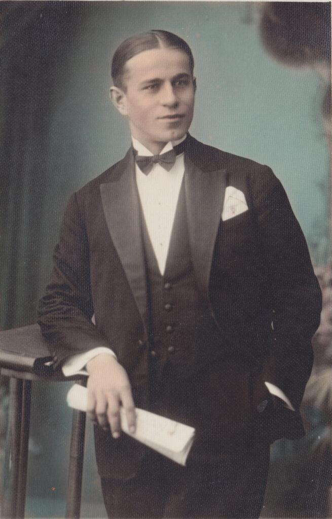 Ondrej Koller (po príchode do Bratislavy, koniec 20. rokov).