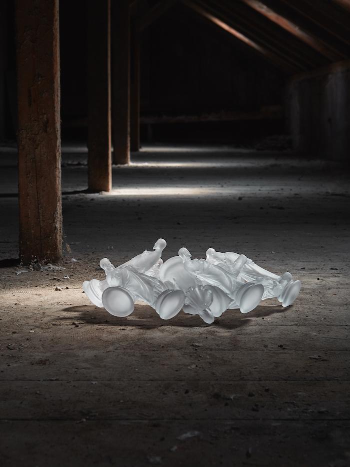 Dvanásť apoštolov.Křišťáľové sklo, 2018. Foto: Tomáš Slavík