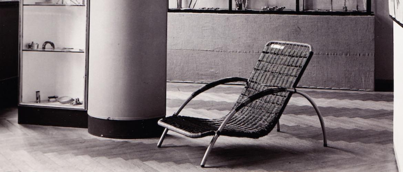 Kreslo-ležadlo z výstavy Nebáť sa moderny!