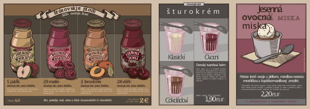 Kaviareň Shtoor. Jesenní špecjál, 2012.