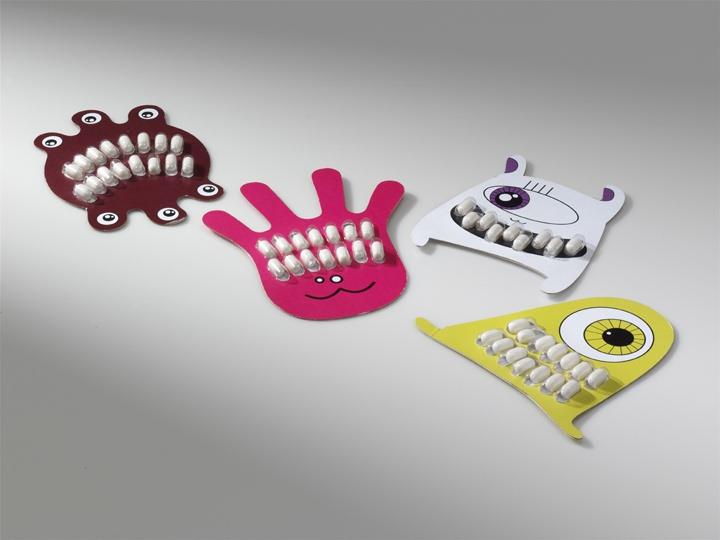 Kristína Novosadová: Obal na Tic Tac. 3. miesto, kategória Produktový obal – Obal na sladkosť (študenti vysokých škôl a mladí dizajnéri do 30 rokov), TU KE, 2010, foto: Ota Nepilý