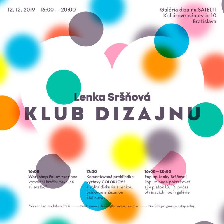 Klub dizajnu: Lenka Sršňová