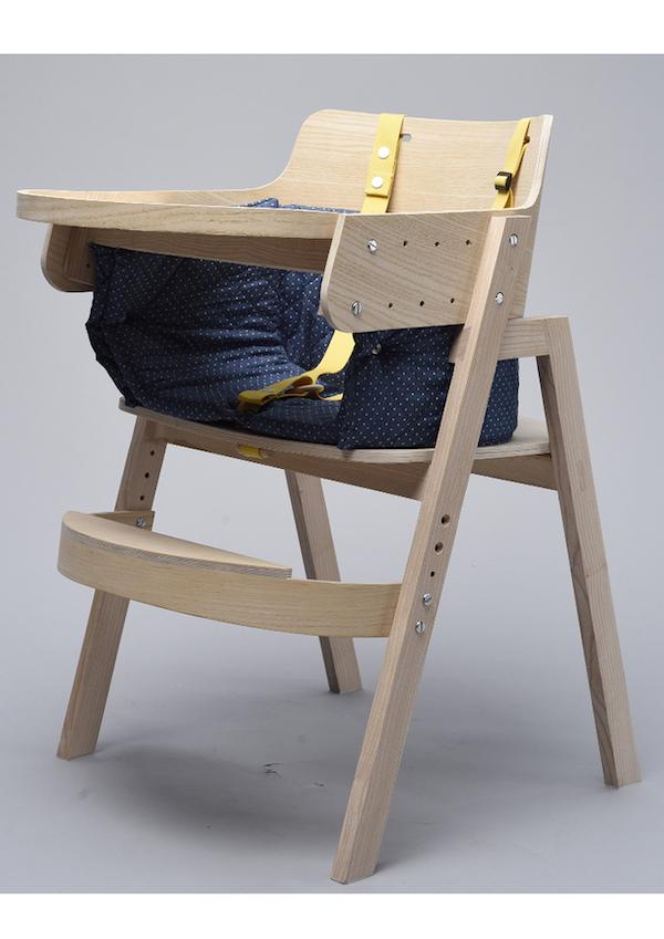 Čestné uznanie v kategórii Semestrálne práce dizajnu nábytku: Radovan Labaš: Stolička pre hendikepovaných sepilepsiou, VŠVU Bratislava, Foto Marko Horban
