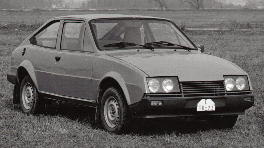 Funkčný prototyp kupé Škoda Locusta. BAZ,1982. Foto archív SMD
