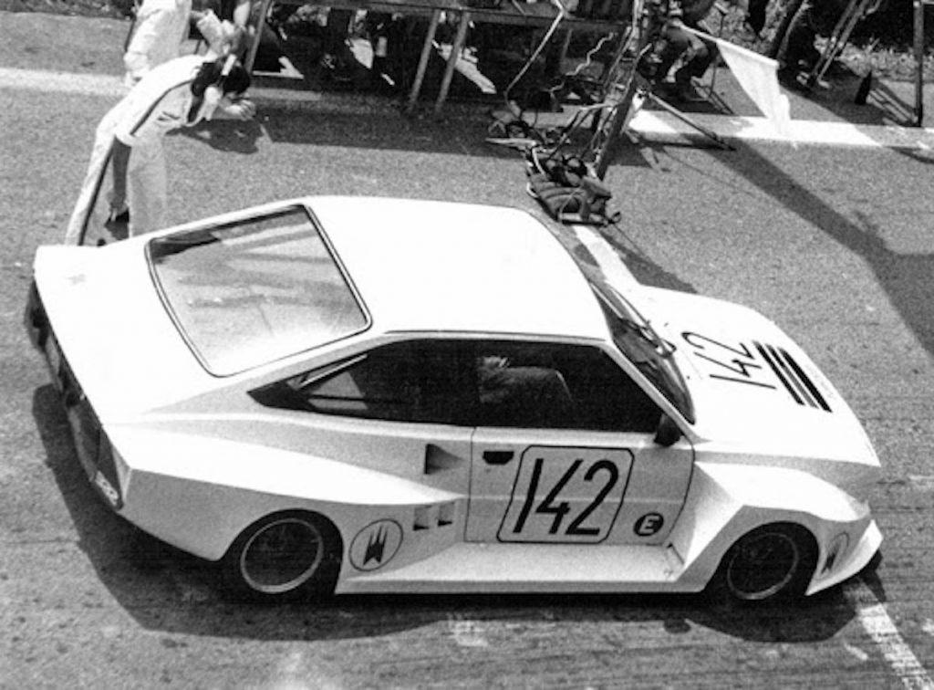 Pretekársky automobil Škoda Salamander. BAZ,1983.Foto archív SMD