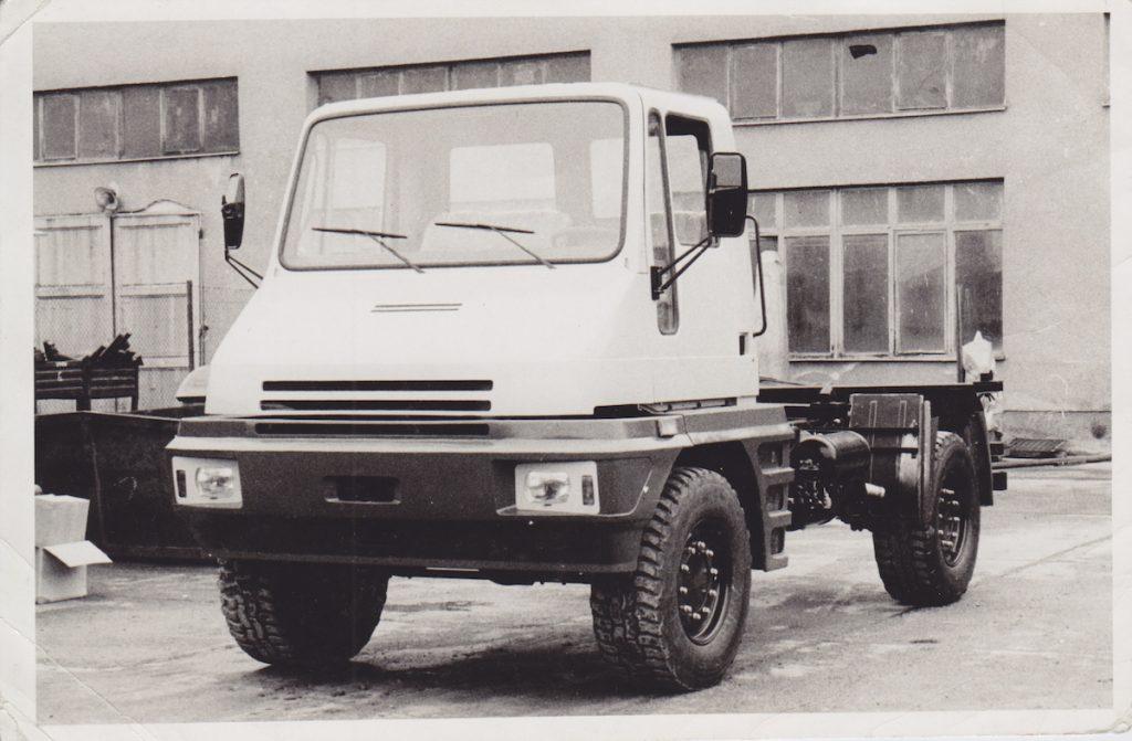 BAZ Devín. BAZ, 1984. Foto archív SMD