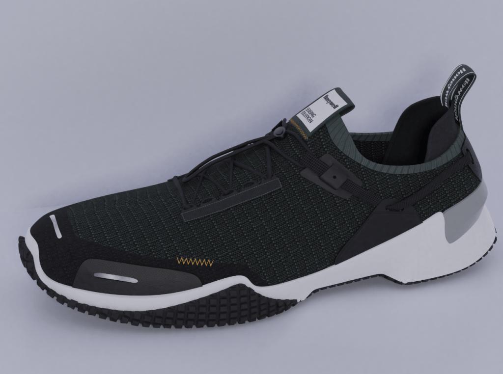 Juraj Šuška, dizajnová štúdia, bezpečnostná obuv Honeywell, 2019