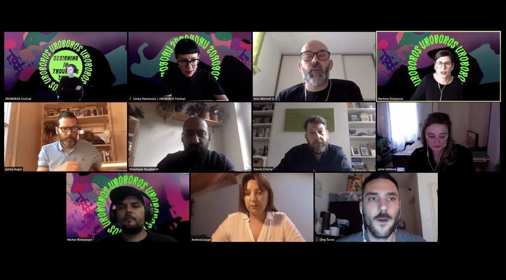 Panelová diskusia zastrešená európskym projektom SpeculativeEdu, ktorý mapuje teritórium špekulatívneho dizajnu v Európe