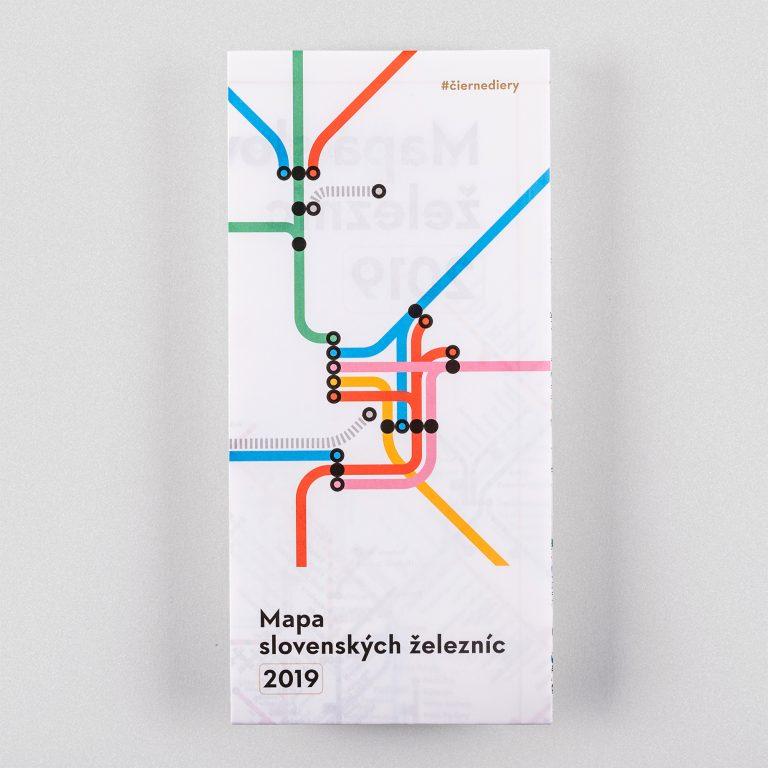 Mapa slovenských železníc