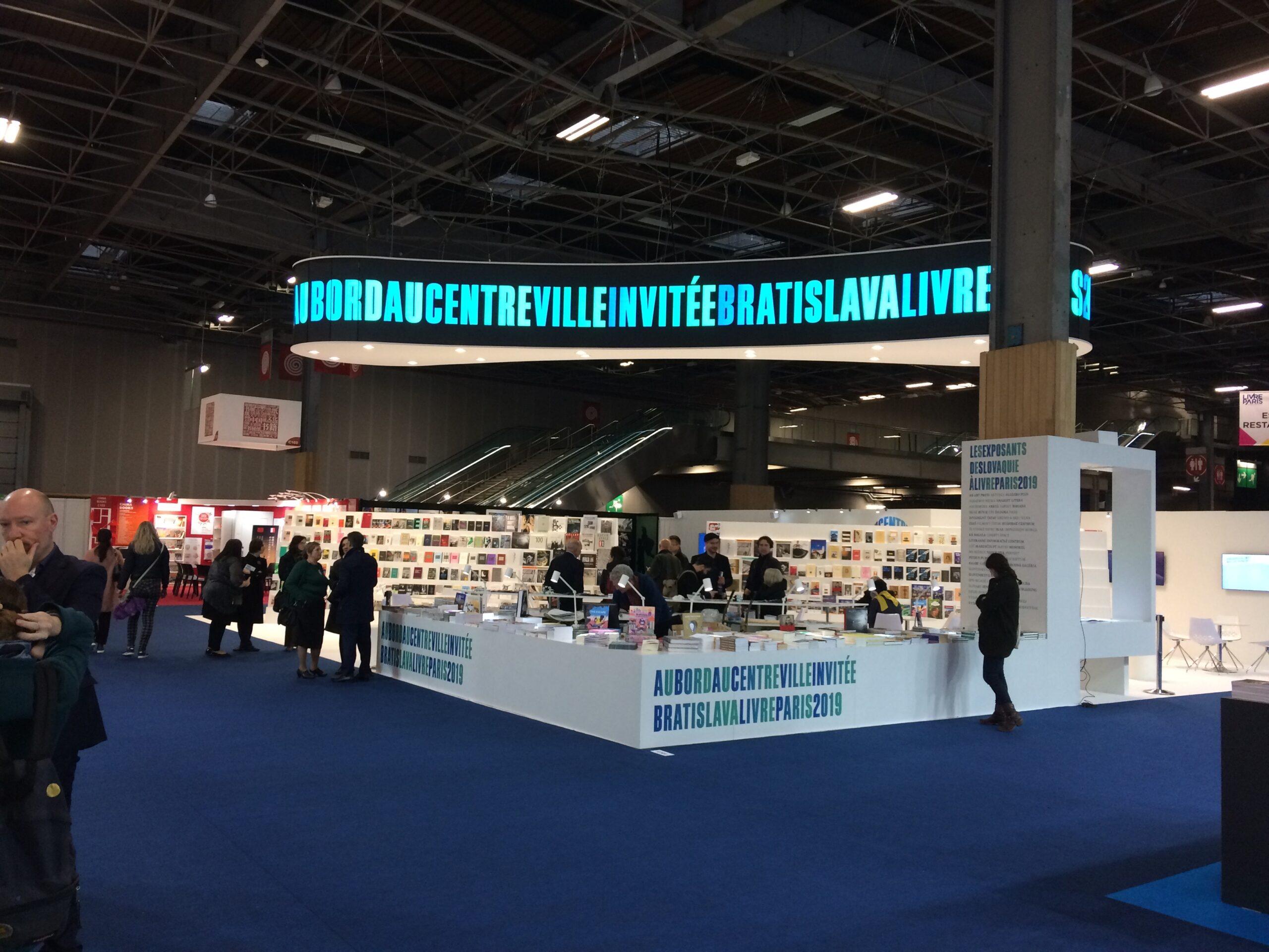 Medzinárodný knižný veľtrh v Paríži. Livre Paris 2019