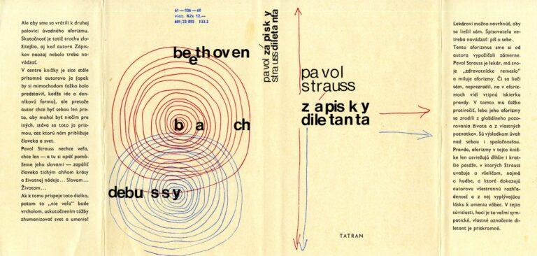 Prebal knihy Zápisky diletanta