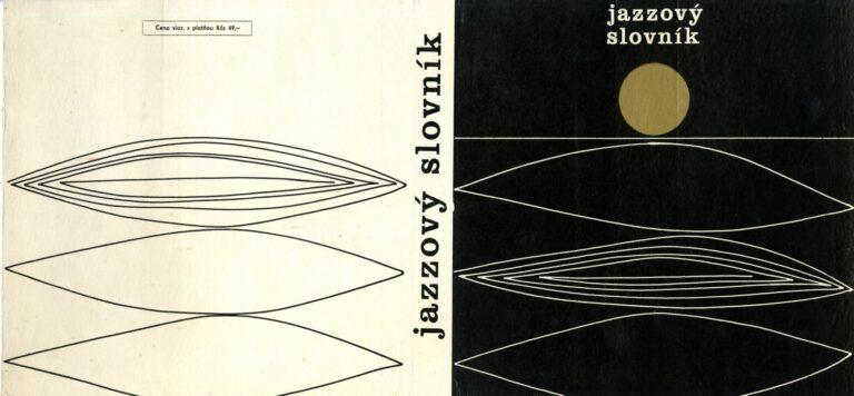 Prebal knihy Jazzový slovník