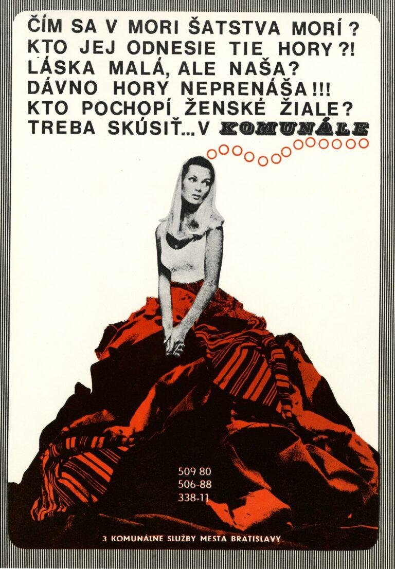 Plagát Komunálne služby mesta Bratislava