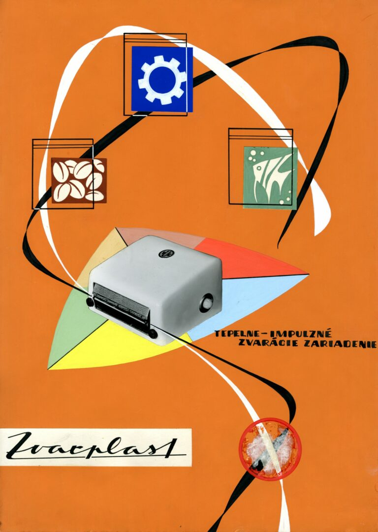 Návrh na reklamný plagát Zvarplast