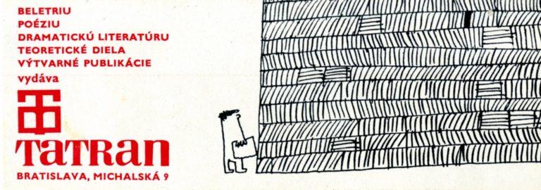 Karol Rosmány – propagačné materiály pre vydavateľstvo Tatran, druhá polovica 60. rokov 20. storočia