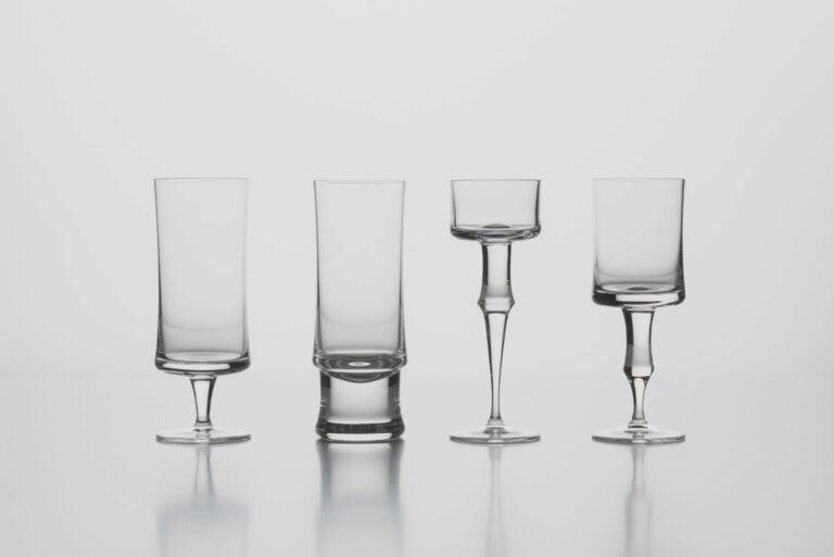Kolekcia 4 kusov pohárov LR 1906, replika