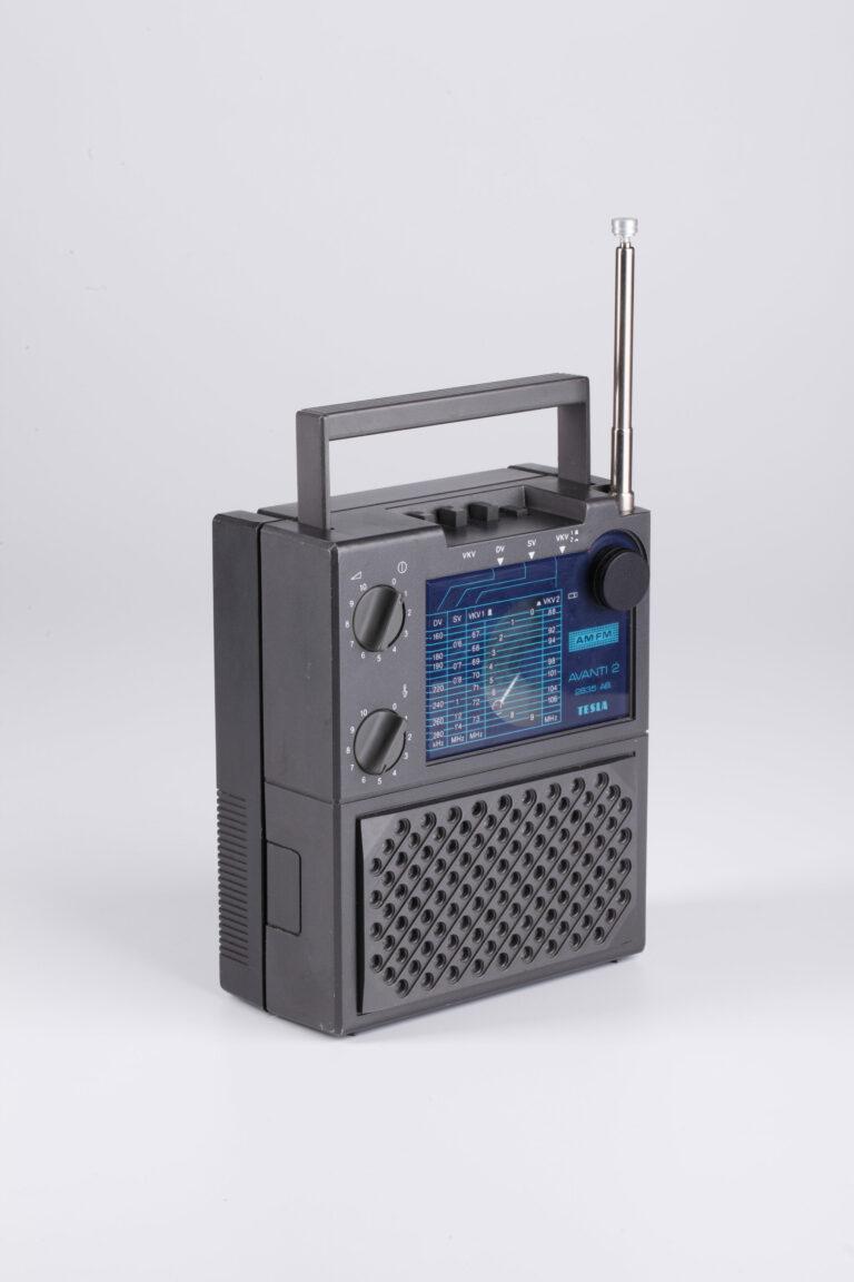 Rádioprijímač Tesla 2835 B Avanti