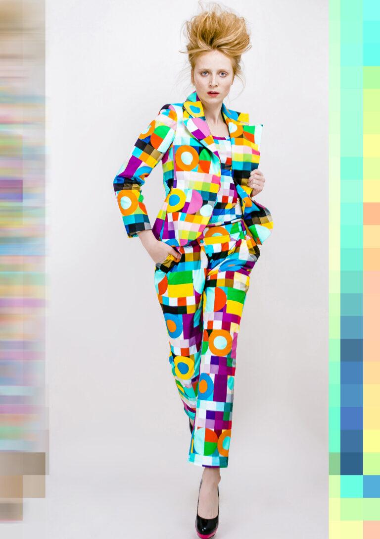 Colorcode - nohavicový kostým