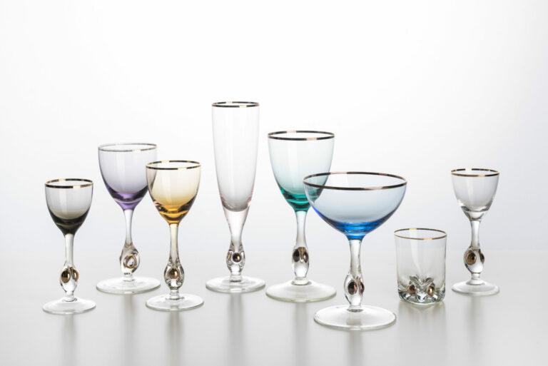 Kolekcia pohárov Zlatá Zuzana