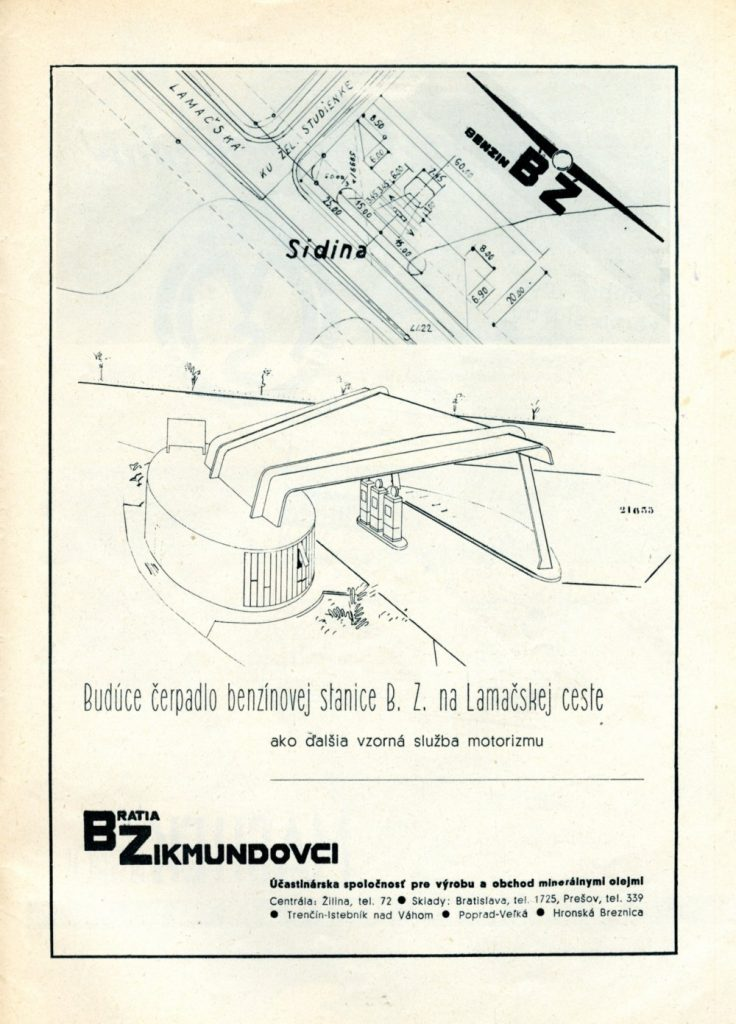 Z časopisu Autoklub, č. 1/1940. Foto: Maroš Schmidt