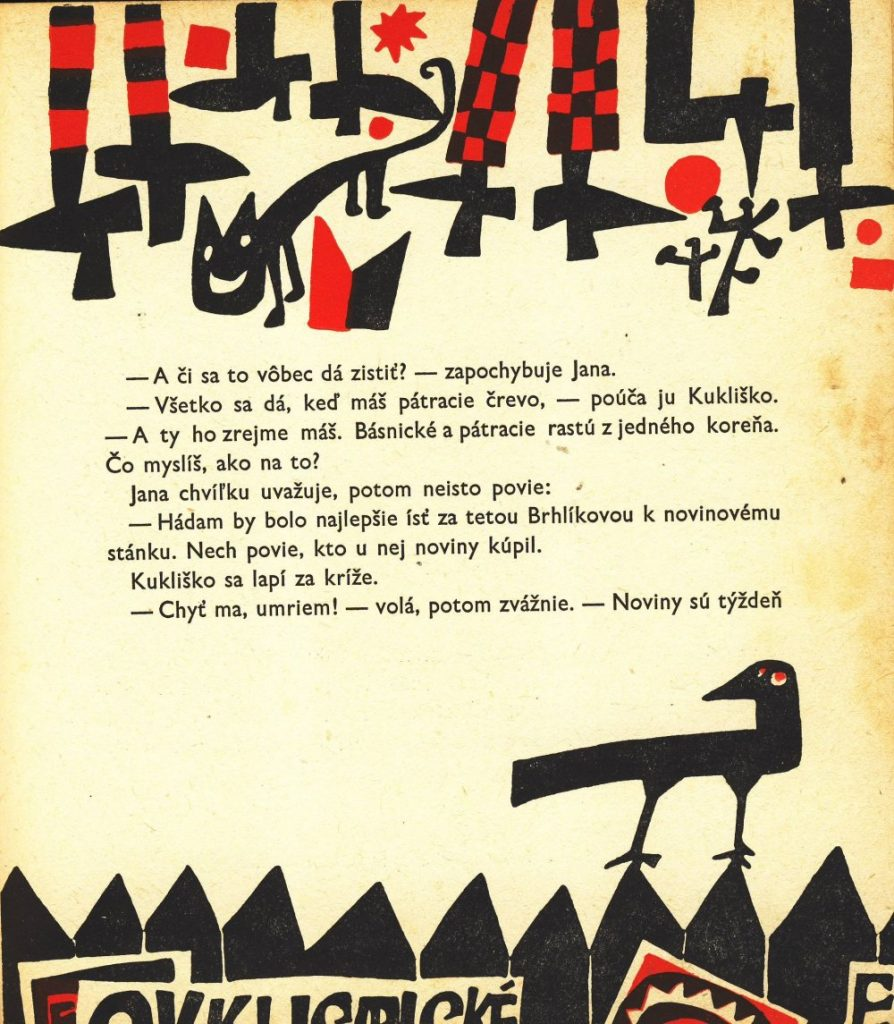 Ilustrácia z knihy Emila Svetoňa Vak bez majiteľa (Mladé letá, 1965). Foto: archív autora