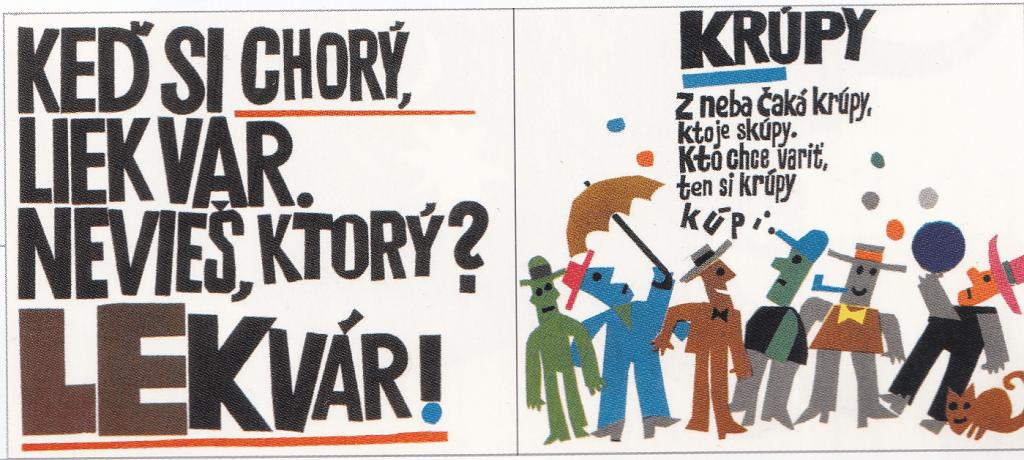 Ilustrácie ku knihe Ľubomíra Feldeka Kuchárska kniha pre deti (Mladé letá, 1968) je zakončením  experimentovania s papierovou kolážou. Foto: archív autora