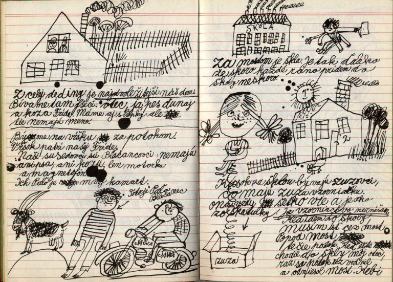 Kniha s dierou uprostred. Ilustrátorská tvorba Miroslava Cipára všesťdesiatych rokoch