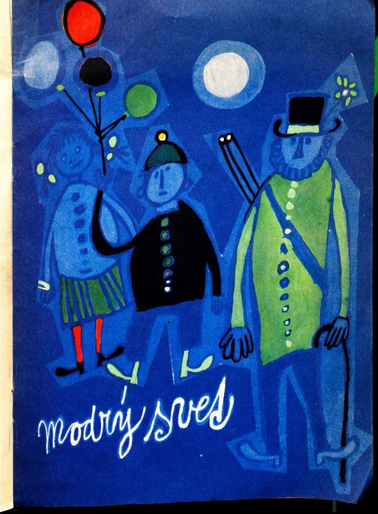 Ilustrácia z knihy Eleonóry Gašparovej Ceruzky a góly (Mladé letá 1960). Foto: archív autora