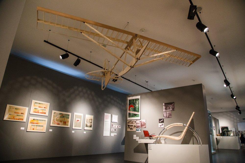 Výstava Nebáť sa moderny! na Bratislavskom hrade (Historické múzeum SNM, 2018 – 2019)Foto: Samuel Okkel
