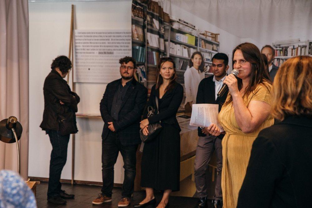 Výstava Velvet Generation na londýnskej ambasáde (2019).  Foto: Michal Augustini
