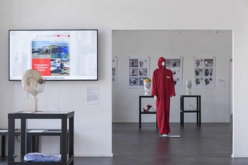 Výstava Design is Now/Ľudia sa stali návrhármi. Dizajnéri zostali ľuďmi, júl – september 2020. Foto: archív SCD