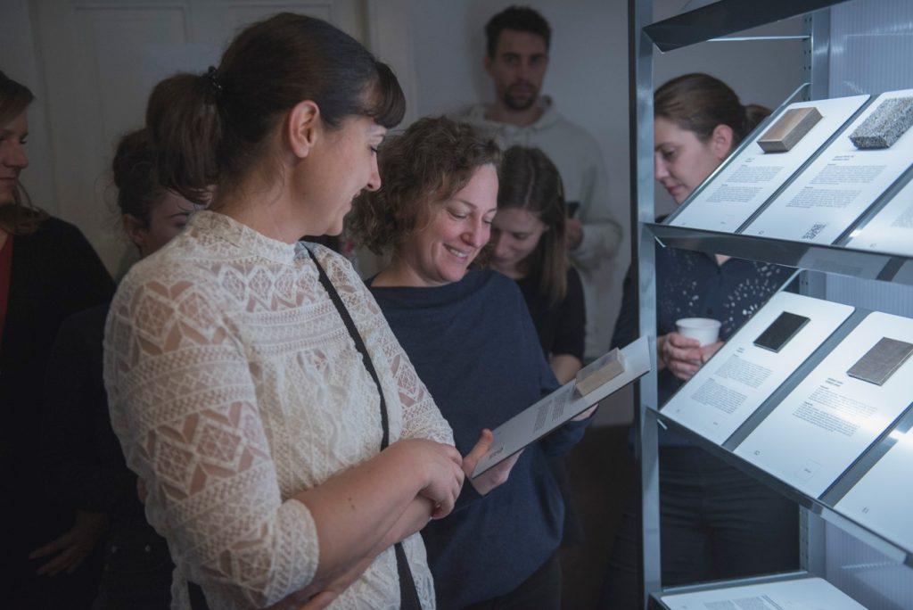 Prezentácia Knižnice materálov v Hurbanových kasárňach, december 2019. Foto: archív SCD