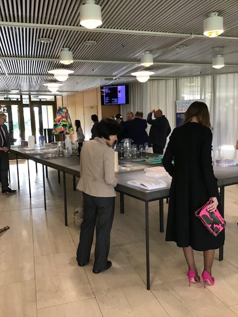 Výstava Contemporary Design from Slovakia v rámci Helsinki Design Week, Aalto Lounge, Finlandia Hall, Helsinki, 2018