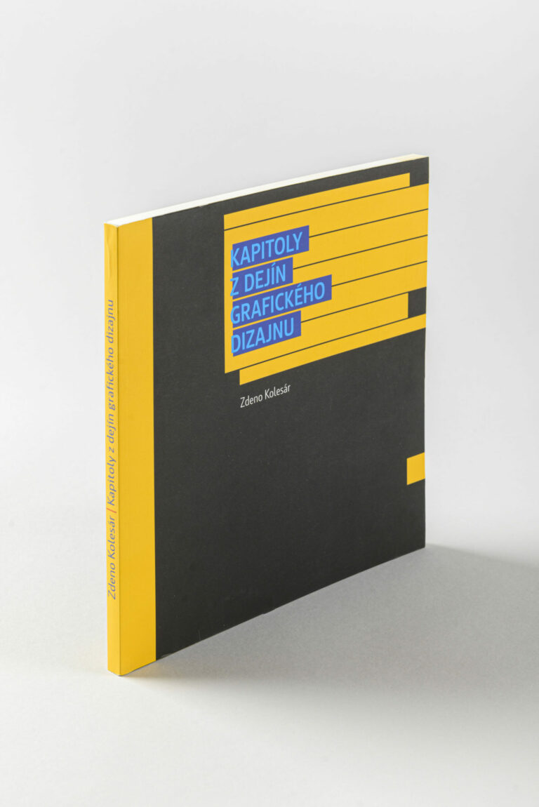 Kapitoly z dejín grafického dizajnu (Z. Kolesár). Foto: Adam Šakový