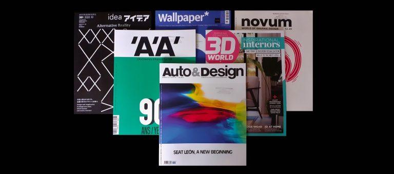Zahraničné časopisy v knižnici Slovenského centra dizajnu