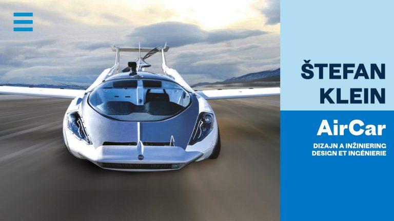 Air Car… Dizajn a inžiniering profesora Štefana Kleina
