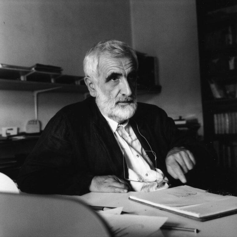 Enzo Mari (1932 – 2020), Foto di Ramak Fazel © Triennale di Milano